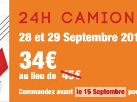 24H CAMIONS au MANS le 28 et 29/09